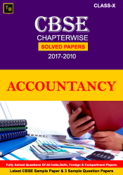 Accountancy Solved Paper For X class