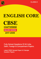 English Core Solved Paper For X class
