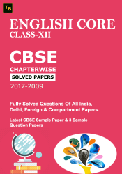English Core Solved Paper For XII class
