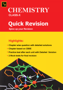 Chemistry Quick Revision For X class