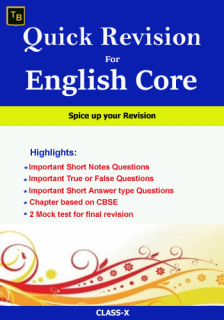 English Quick Revision For X class