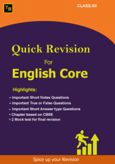 English Quick Revision For XII class