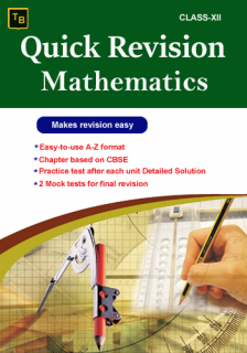 Mathematics Quick Revision For XII class