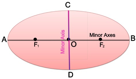 Major and Minor Axes